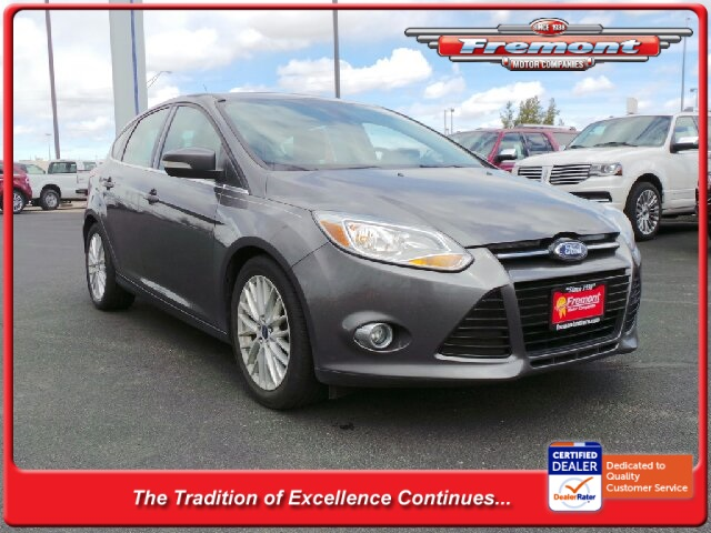 Certified Pre Owned 2012 Ford Focus Sel 4dr Car In