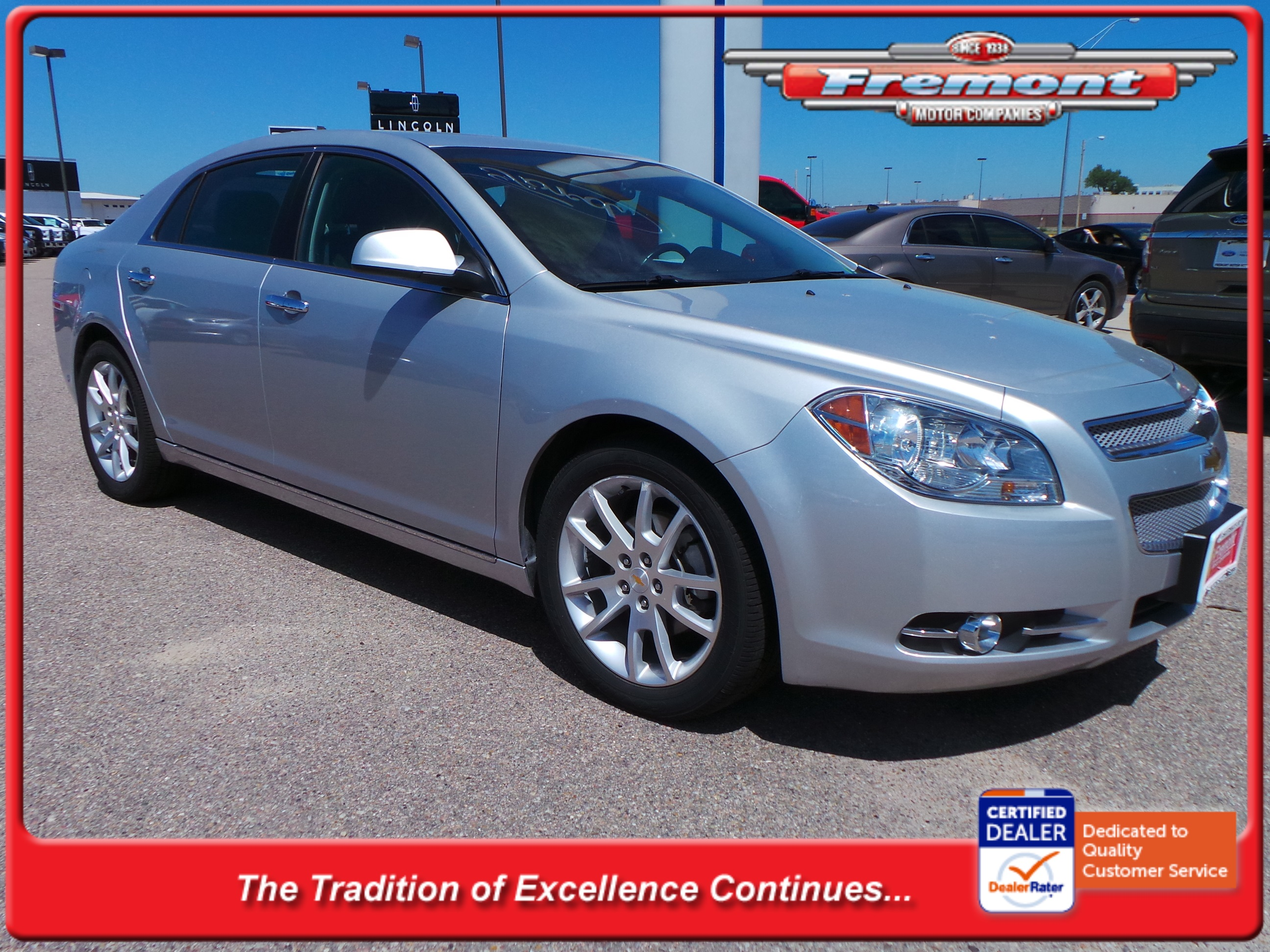 Certified Pre Owned 2011 Chevrolet Malibu Ltz 4dr Car In